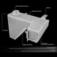 Expansion Coolant Overflow Recovery Tank For 05-10 Chrysler 300 V6/V8 SOHC/DOHC-Performance-BuildFastCar