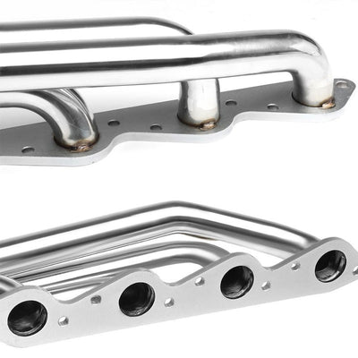"Front-Mount SS Chrome 3"" V-Band Turbo Manifold For Chevy/GMC 366 V8 Big Block-Performance-BuildFastCar"