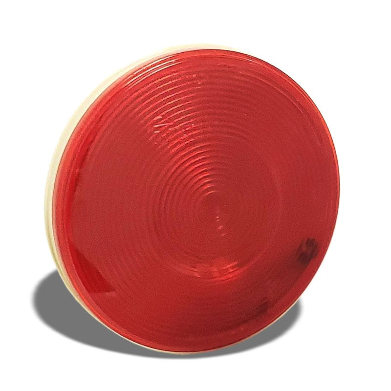 Truck-Lite 40 Economy 40282R Red Round Grommet Mount Turn/Stop/Tail Light/Lamp-Truck & Trailer Parts-BuildFastCar