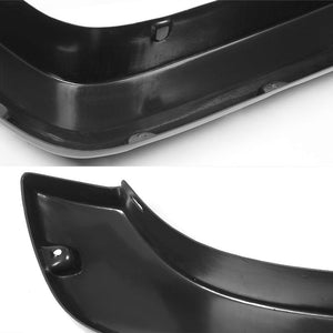 "Matte Black Pocket-Rivet Wheel Fender Flares For 14-17 Silverado 1500 69.3"" Bed-Exterior-BuildFastCar"