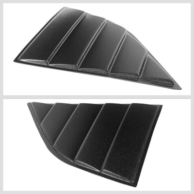 glossy-black-rear-&-side-windshield-sun-vent-louver-cover-for-08-20-challenger
