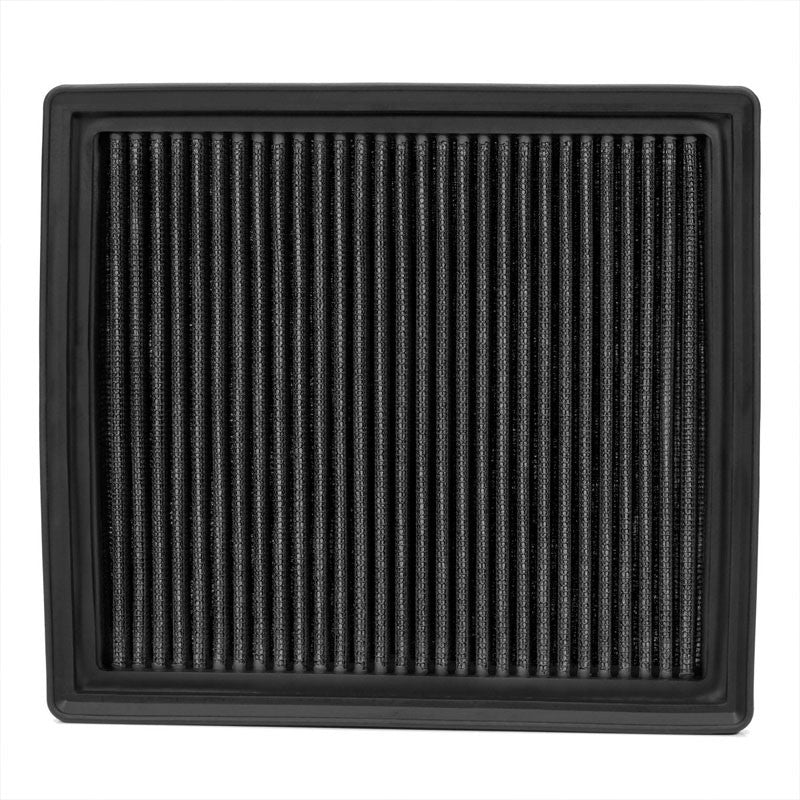 Reusable Black High Flow Drop-In Panel Air Filter For BMW 12-16 F22/F30/F32 2.0T-Performance-BuildFastCar