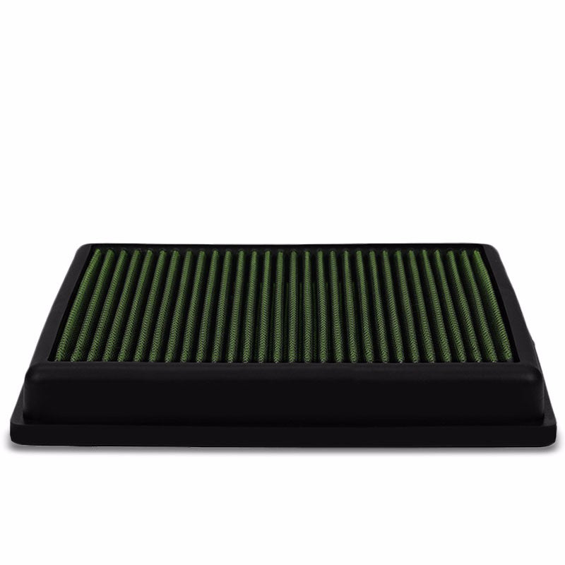 Reusable Green High Flow Drop-In Panel Air Filter For BMW 12-16 F22/F30/F32 2.0T-Performance-BuildFastCar
