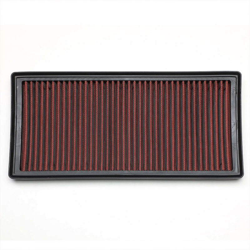 Red High Flow Washable/Reuse OE Drop-In Panel Air Filter For LR4/Range Rover-Performance-BuildFastCar