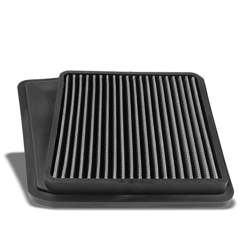 Silver High Flow Washable/Reuse OE Drop-In Panel Air Filter For 09-14 Acura TSX-Performance-BuildFastCar