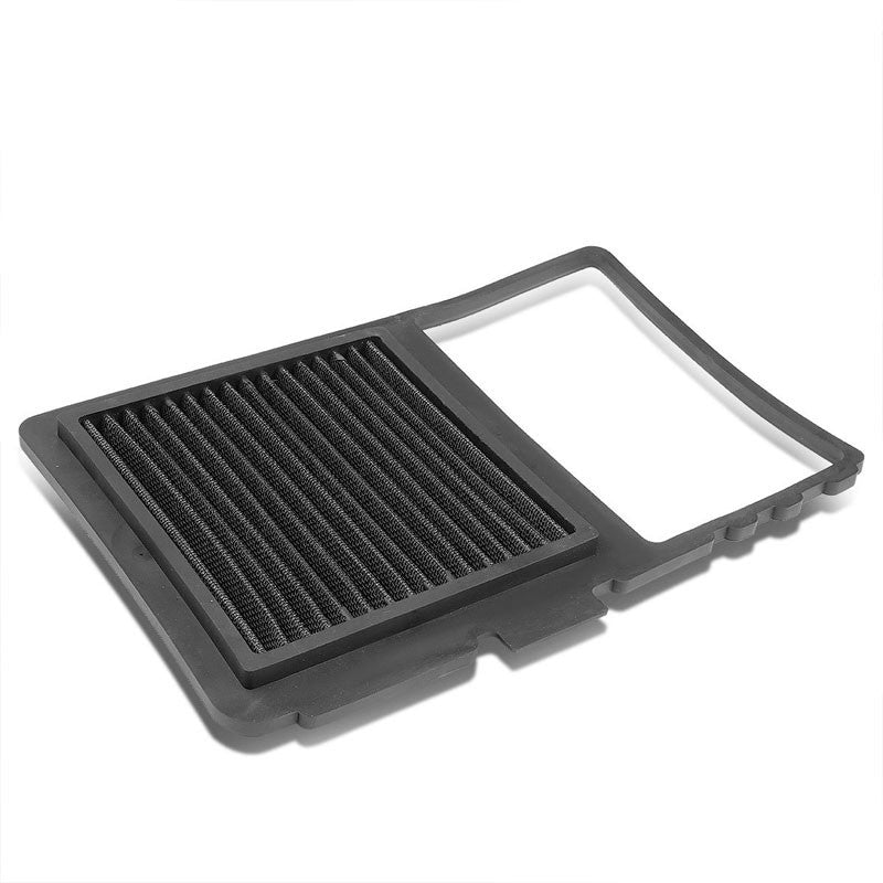 Black High Flow Washable/Reuse OE Drop-In Panel Air Filter For Toyota Prius-Performance-BuildFastCar
