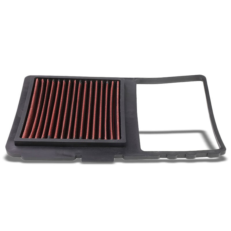 Red High Flow Washable/Reuse OE Drop-In Panel Air Filter For 04-09 Toyota Prius-Performance-BuildFastCar