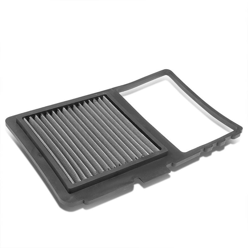 Silver High Flow Washable/Reuse OE Drop-In Panel Air Filter For Toyota Prius-Performance-BuildFastCar