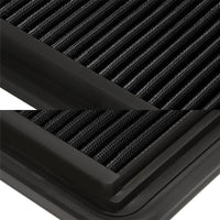 Wash/Reusable Black High Flow Drop-In Panel Air Filter For Buick 06-11 Lucerne-Performance-BuildFastCar