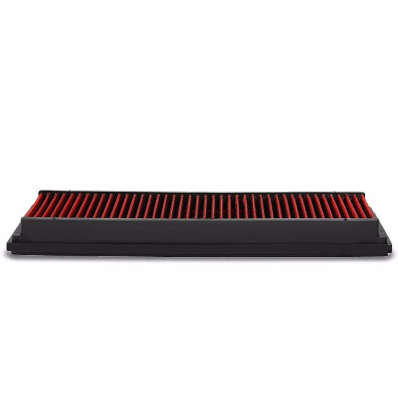 Reusable Red High Flow Drop-In Panel Air Filter For 99-15 Mercedes-Benz V6/V8-Performance-BuildFastCar
