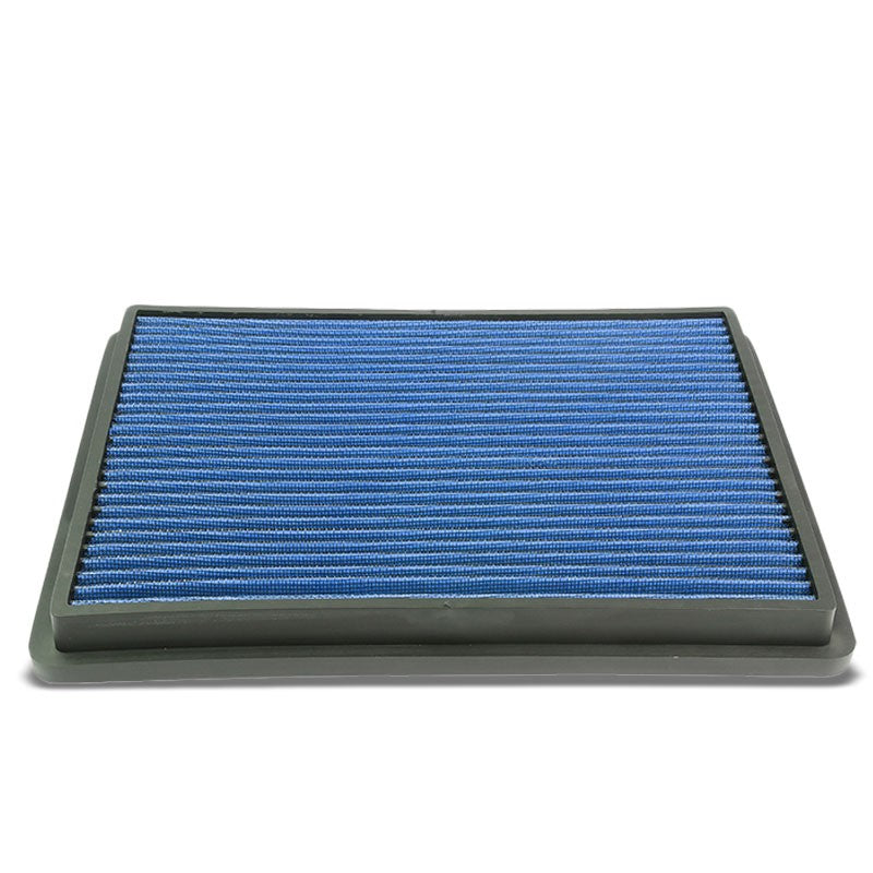 Blue High Flow Washable Drop-In Panel Air Filter For 99-17 Silverado 1500 2500-Performance-BuildFastCar