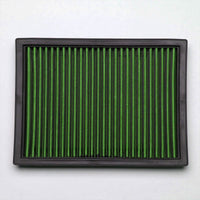 Green High Flow Washable/Reusable Airbox Drop-In Panel Air Filter For 95-99 M3-Performance-BuildFastCar