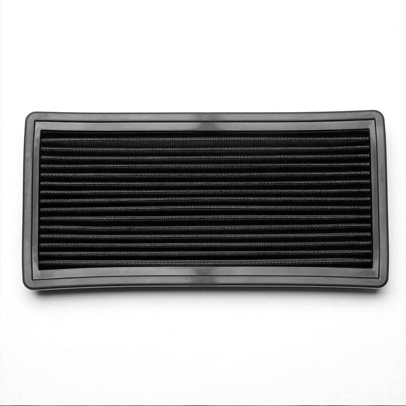 Black High Flow Washable OE Drop-In Panel Air Filter For Jeep Cherokee/Commanche-Performance-BuildFastCar