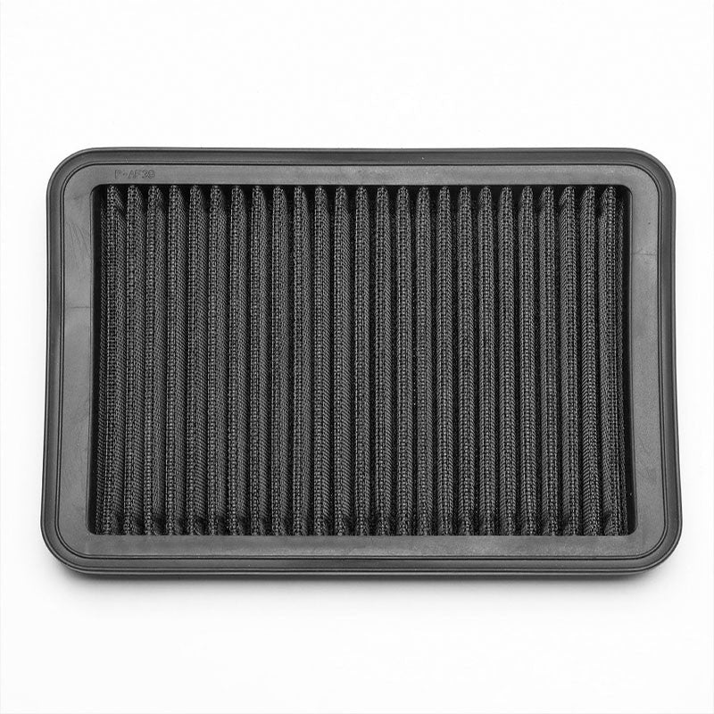 Black LongLife Washable OE Drop-In Panel Air Filter For 95-04 Tacoma 2.4L 2.7L-Performance-BuildFastCar