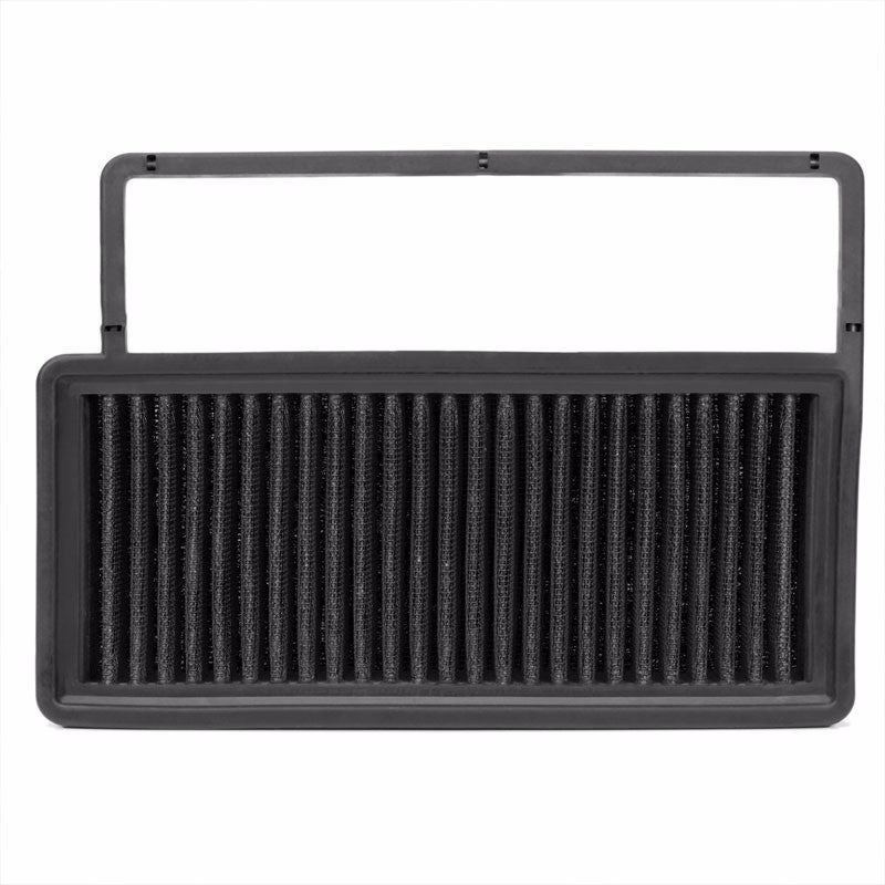Reusable Black High Flow Drop-In Panel Air Filter For 10-17 Fiat Doblo 1.4T-Performance-BuildFastCar