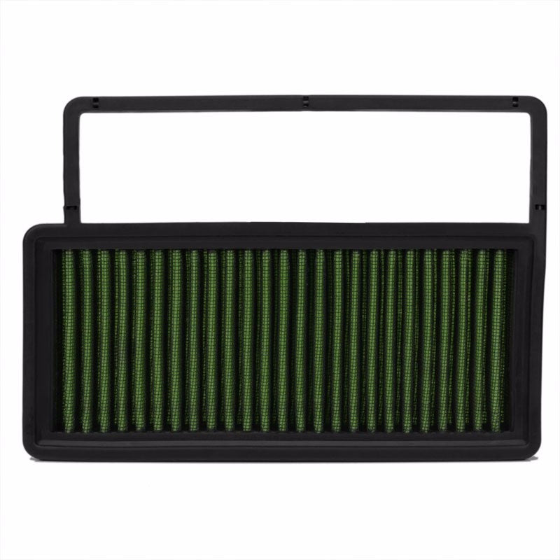 Reusable Green High Flow Drop-In Panel Air Filter For 10-17 Fiat Doblo 1.4T-Performance-BuildFastCar