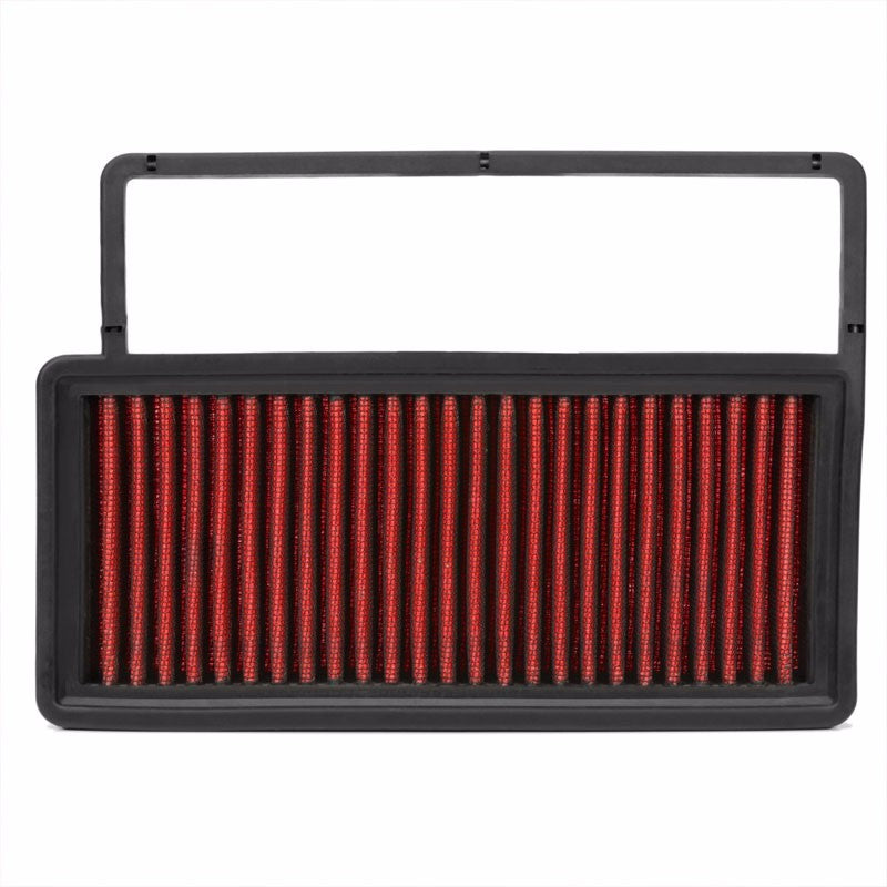 Reusable Red High Flow Cotton Drop-In Panel Air Filter For 10-17 Fiat Doblo 1.4T-Performance-BuildFastCar