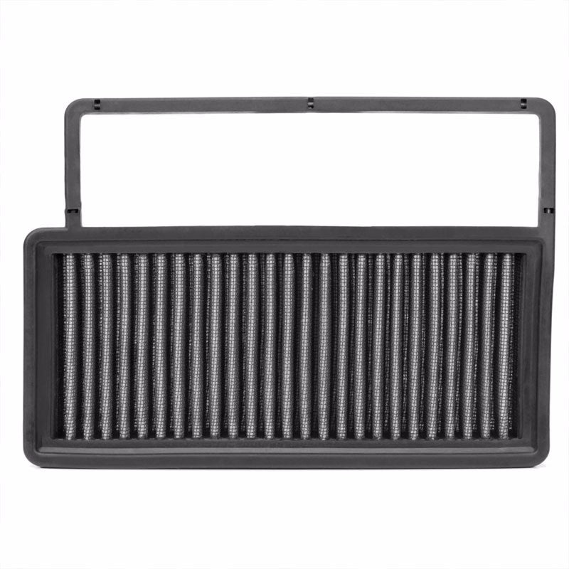 Reusable Silver High Flow Drop-In Panel Air Filter For 10-17 Fiat Doblo 1.4T-Performance-BuildFastCar