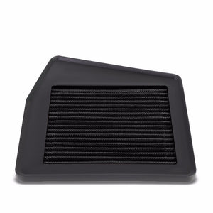 Reusable Black High Flow Drop-In Panel Air Filter For Non-USDM 08-15 Accord 2.0L-Performance-BuildFastCar