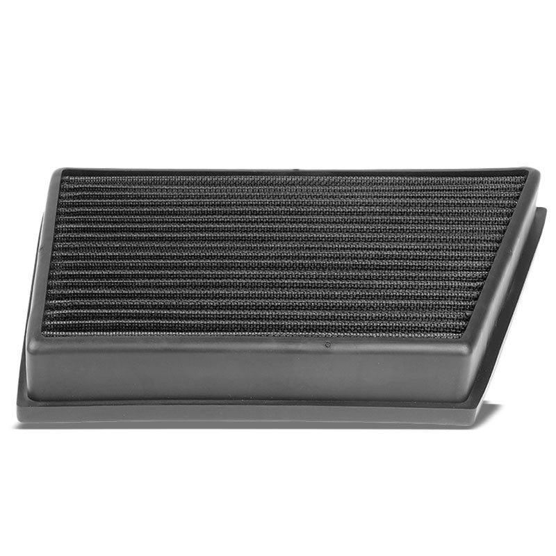Black High Flow Washable OE Drop-In Panel Air Filter For 12-17 Evoque 2.0 Turbo-Performance-BuildFastCar