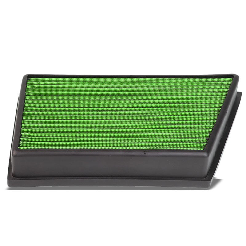 Green High Flow Washable OE Drop-In Panel Air Filter For 13-15 LR2 2.0 Turbo-Performance-BuildFastCar