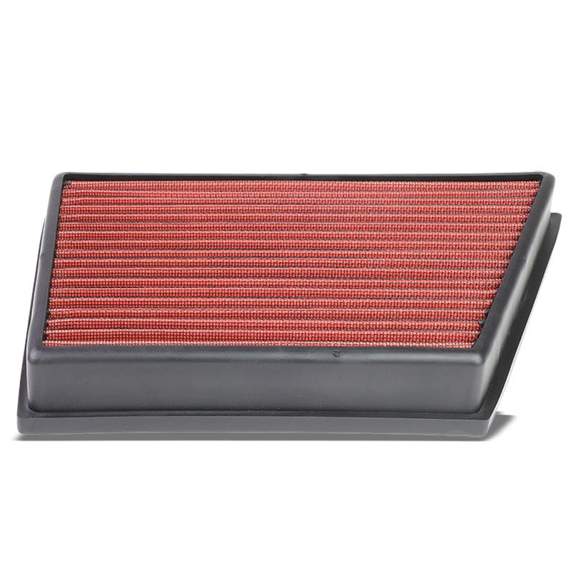Red High Flow Washable Drop-In Panel Air Filter For Evoque/LR2/Discovery Sport-Performance-BuildFastCar