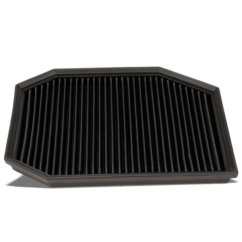 Reusable Black High Flow Drop-In Panel Air Filter For BMW 04-07 E60 5-Series-Performance-BuildFastCar