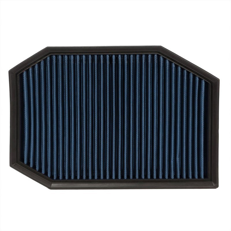 Reusable Blue High Flow Drop-In Panel Air Filter For BMW 04-07 E60 5-Series-Performance-BuildFastCar