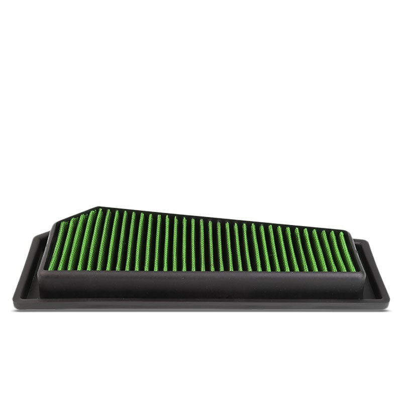 Green High Flow Washable OE Drop-In Panel Air Filter For C250/SLK250 1.8L Turbo-Performance-BuildFastCar