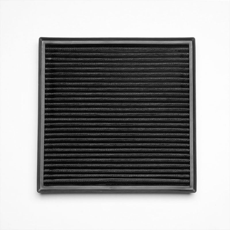 Black High Flow Washable OE Drop-In Panel Air Filter For Buick Verano 2.0L Turbo-Performance-BuildFastCar
