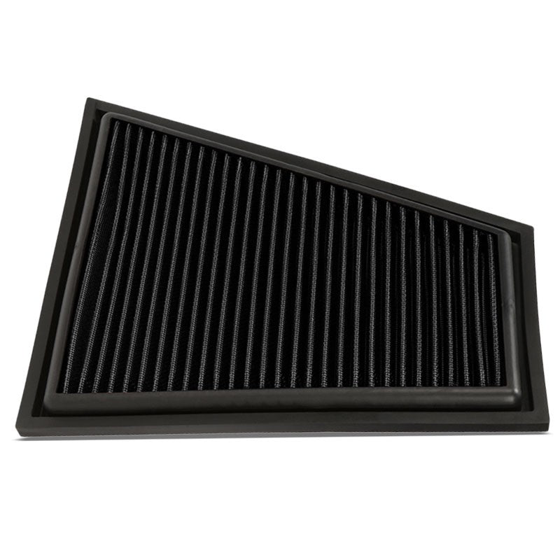 Reusable Black High Flow Drop-In Panel Air Filter For BMW 13-15 X1 Sdrive28i-Performance-BuildFastCar