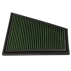 Reusable Green High Flow Drop-In Panel Air Filter For BMW 13-15 X1 Sdrive28i-Performance-BuildFastCar