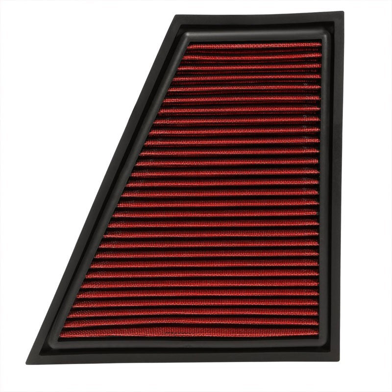 Reusable Red High Flow Drop-In Panel Air Filter For BMW 13-15 X1 Sdrive28i-Performance-BuildFastCar