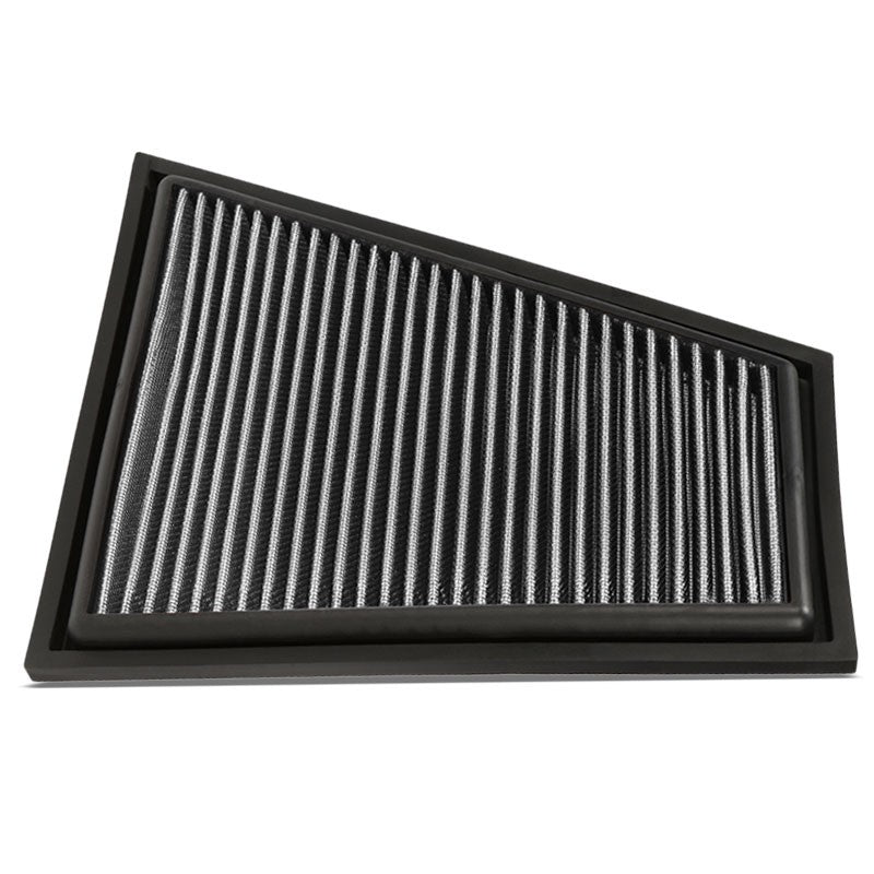 Reusable Silver High Flow Drop-In Panel Air Filter For BMW 13-15 X1 Sdrive28i-Performance-BuildFastCar