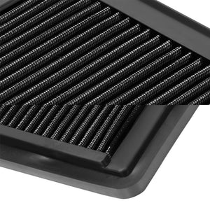Reusable Black High Flow Drop-In Panel Air Filter For Honda 09-15 Pilot SUV-Performance-BuildFastCar