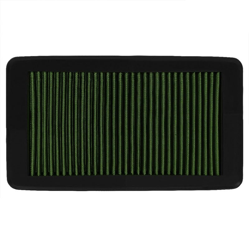 Reusable Green High Flow Drop-In Panel Air Filter For Honda 09-15 Pilot SUV-Performance-BuildFastCar