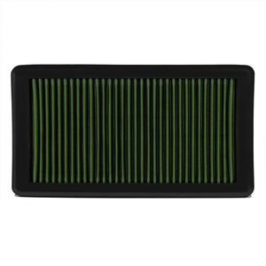 Reusable Green High Flow Drop-In Panel Air Filter For Mazda 03-08 Mazda 6 2.3L-Performance-BuildFastCar