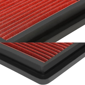 Reusable Red High Flow Drop-In Panel Air Filter For Mazda 03-08 Mazda 6 2.3L-Performance-BuildFastCar