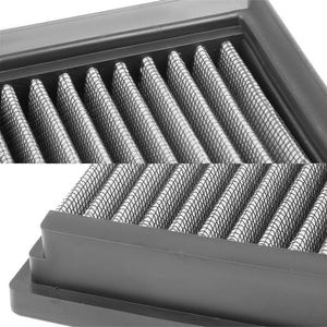 Silver High Flow Washable/Reusable Drop-In Panel Air Filter For 09-15 Jaguar XF-Performance-BuildFastCar
