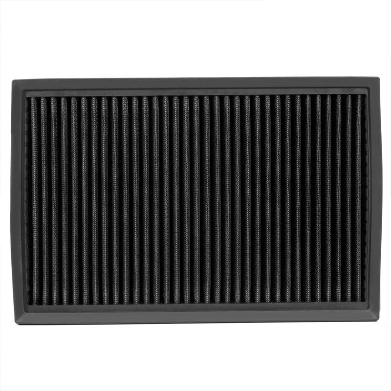 Reusable Black High Flow Drop-In Panel Air Filter For Ford 92-11 Crown Victoria-Performance-BuildFastCar