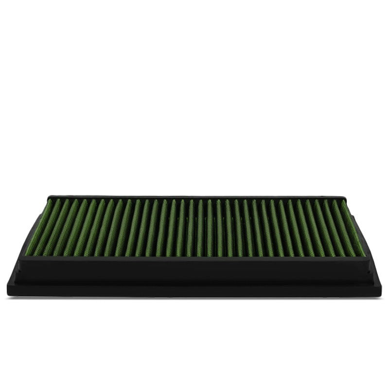 Reusable Green High Flow Drop-In Panel Air Filter For Ford 92-11 Crown Victoria-Performance-BuildFastCar