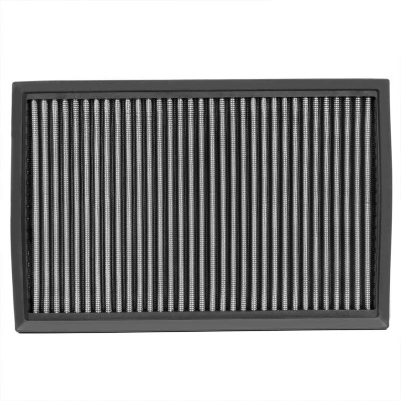 Reusable Silver High Flow Drop-In Panel Air Filter For Ford 92-11 Crown Victoria-Performance-BuildFastCar