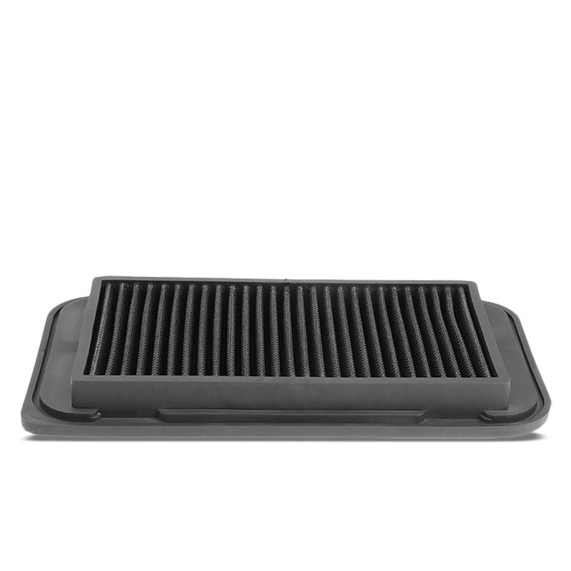 Black High Flow Washable Drop-In Panel Air Filter For 03-08 Corolla/Matrix-Performance-BuildFastCar