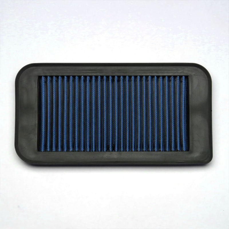 Blue Washable/Reusable Airbox Drop-In Panel Air Filter For 07-10 Scion tC-Performance-BuildFastCar