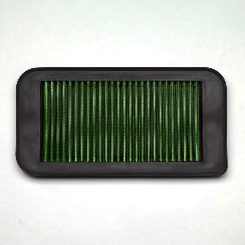 Green Washable/Reusable OE Drop-In Panel Air Filter For 03-08 Pontiac Vibe-Performance-BuildFastCar