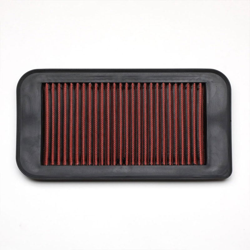 Red High Flow Washable/Reuse Drop-In Panel Air Filter For 09-10 Lotus Exige-Performance-BuildFastCar