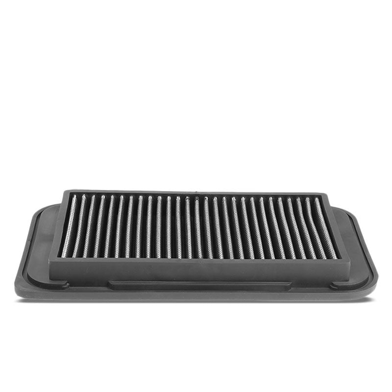Silver Washable/Reusable Drop-In Panel Air Filter For 03-08 Corolla/Matrix-Performance-BuildFastCar