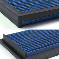 Blue High Flow Washable/Reuse Drop-In Panel Air Filter For 86 Cherokee 2.5/4.0-Performance-BuildFastCar
