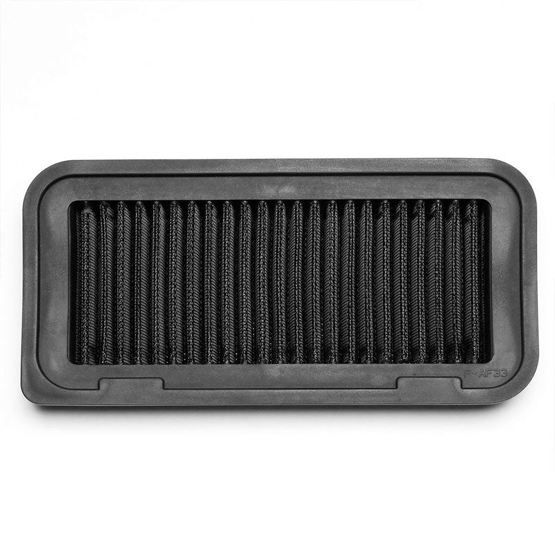 Black High Flow Washable/Reusable Drop-In Panel Air Filter For 04-06 Scion xA/xB-Performance-BuildFastCar
