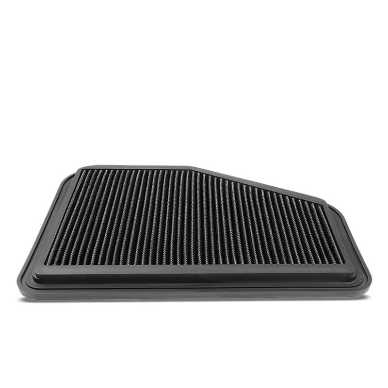 Black High Flow Washable/Reusable Drop-In Panel Air Filter For 08-09 Pontiac G8-Performance-BuildFastCar